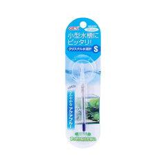 アクアブルーのスリムな水温計!クリスタル水温計 S【ジェックス】 【あす楽対応_関東】
