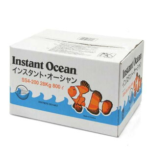 お一人様1点限り 箱入り インスタントオーシャン プレミアム 800L用 同梱不可 人工海水 ...