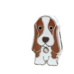 チャームコレクション スライドチャーム 愛犬シリーズ バセットハウンド 17 品番:BKE−090 17[charm 楽天市場店]