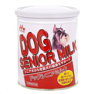 高齢犬の健康をサポート!森乳 ワンラックドッグシニア 280g 高齢犬用ミルク 犬 ミルク ...