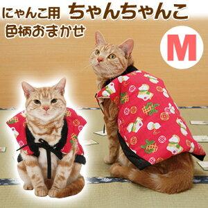 ぽかぽかかわいい猫用ちゃんちゃんこ!アウトレット品 ペティオ 猫用ちゃんちゃんこ Mサイズ...