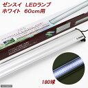低電力&高光度!ゼンスイ LEDランプ ホワイト 60cm用【関東当日便】【HLS_DU】