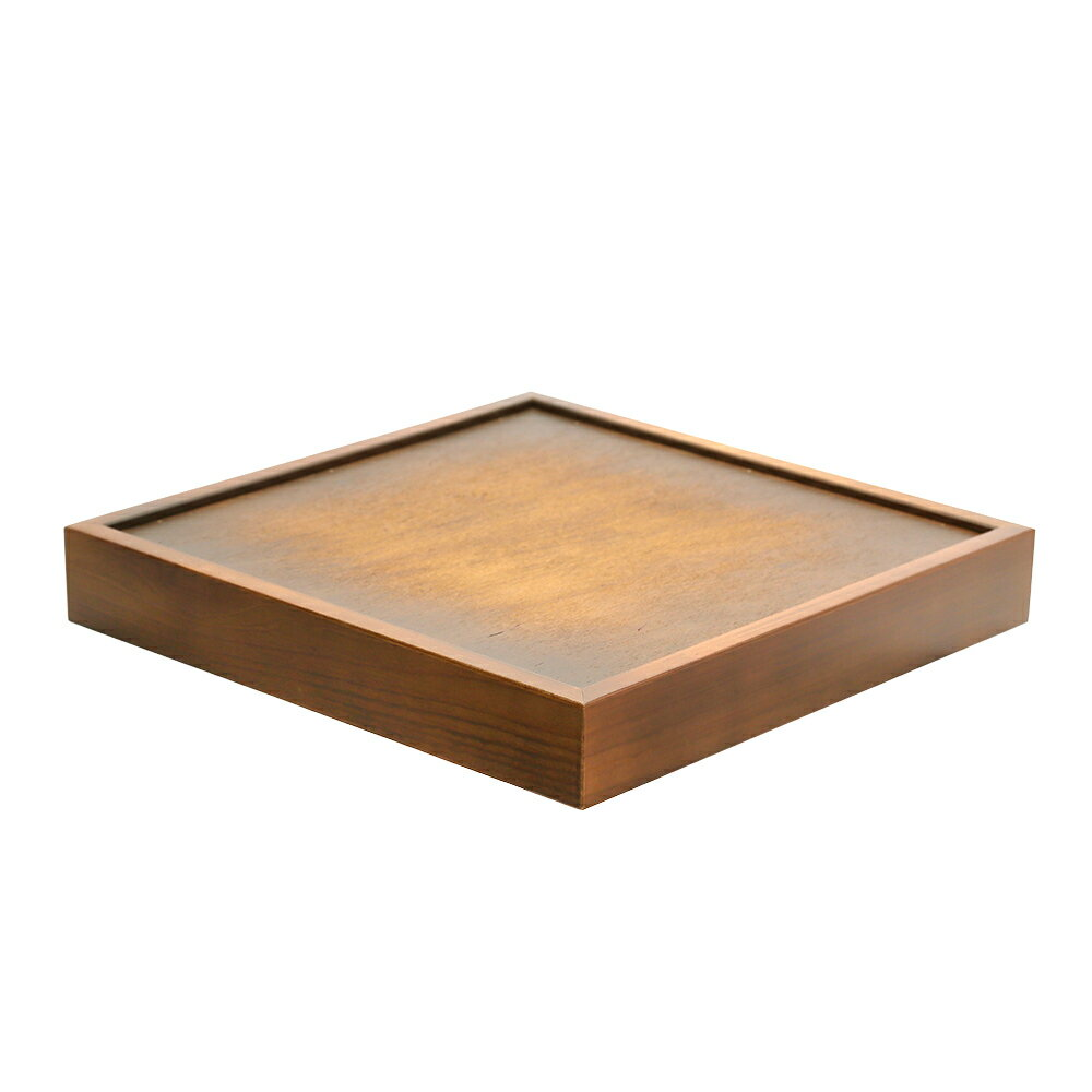 ウッディスタンド ボード30 集成材 ブラウン W330×D330×H50(mm)
