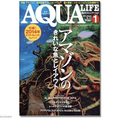 魚とのコミュニケーション!アクアライフ 1月号 (2014) 関東当日便