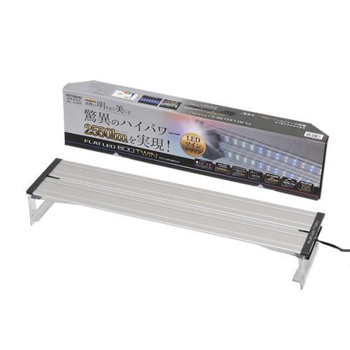 コトブキ工芸 kotobuki フラットLED ツイン 600 シルバー
