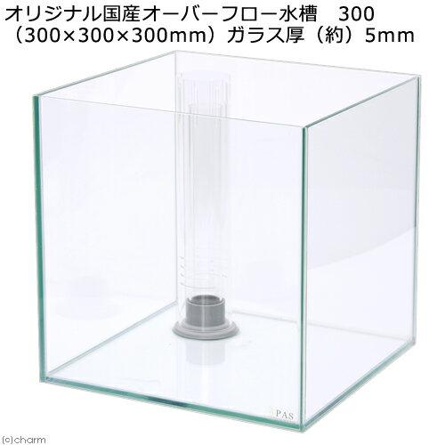 オリジナル国産オーバーフロー水槽 300(30×30×30cm)