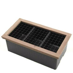 メダカの飼育や繁殖に特化した発泡スチロール製水槽!メダカの2世帯住宅 & 木枠+ネット セッ...