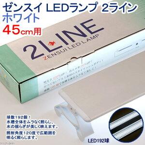 進化した高照度LED!ゼンスイ LEDランプ 2ライン ホワイト 45cm用 水槽用照明・LEDライト...