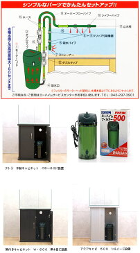 60Hz エーハイムフィルター 500 60Hz 西日本用 水槽用外部フィルター メーカー保証期間2年 沖縄別途送料 関東当日便