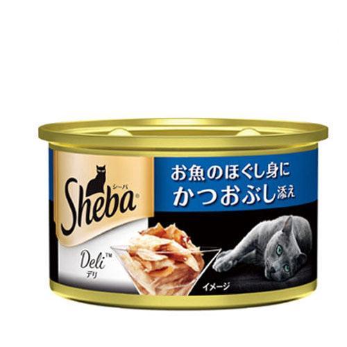 箱売り シーバ デリ お魚のほぐし身にかつおぶし添え 85g 1箱48個入り キャットフード シーバ 関東当日便