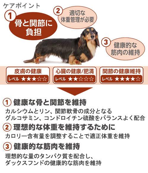 ROYALCANIN(ロイヤルカナン)『ダックスフンド専用フード中・高齢犬用』