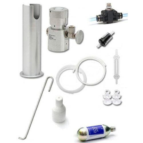 CO2フルセット AURA RCG0328・専用スタンド バブルカウンター付き 関東当日便