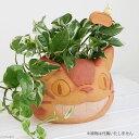ジブリプランター ピック付き となりのトトロ にんまりネコバス(6号鉢用) 鉢 鉢カバー ...