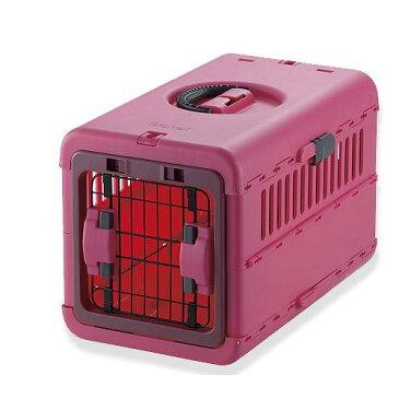 リッチェル キャンピングキャリー 折りたたみ S ピンク 犬 猫 キャリーバッグ 関東当日便