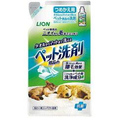 犬用品>消臭・除菌剤>掃除用品ライオン ペット用品の洗剤 つめかえ用 320g 犬 猫 洗剤...
