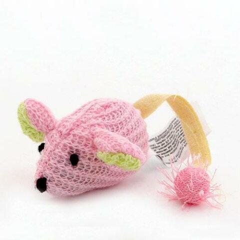 スーパーキャット プレインスクイーク ピンキーマウス 猫用おもちゃ ネズミ 関東当日便