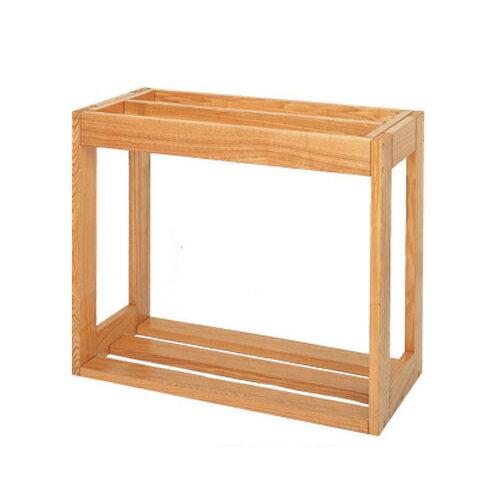 水槽台 ウッドラック refine 600×450-2(クリア) 60cm水槽用(キャビネット)