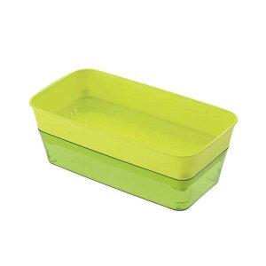 簡単、水だけ栽培!スプラウトファーム 24型 グリーン(W23.7×D12.3×H8.5cm) 関東当日便