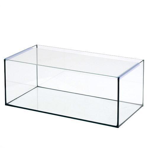 60cmフラット水槽ブラックシリコン アクロ60Nフラット(60×30×23cm)オールガラス水槽 Aqullo