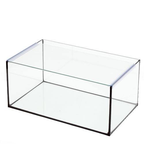 45cm水槽ブラックシリコン アクロ45Nフラット(45×27×20cm)オールガラス水槽 Aqullo
