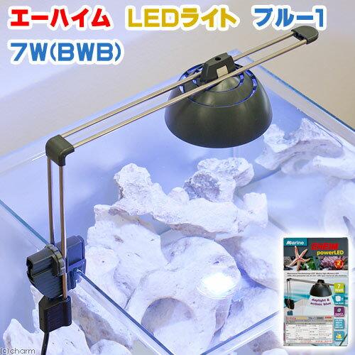 エーハイム LEDライト ブルー1 7W BWB 水槽用照明 海水魚 サンゴ メーカー保証期間3年【HLS_DU】 関東当日便