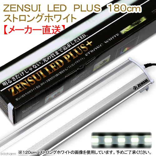 ZENSUI LED PLUS 180cm ストロングホワイト 水槽用照明 ライト 熱帯魚 水草 アクアリウムライト