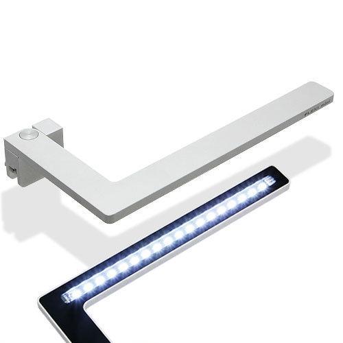 正規品 水草が育つ 小型水槽用LEDライト FLEXI mini シルバー 熱帯魚 照明 アクアリウムライト
