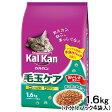 カルカン ドライ 毛玉ケア かつおとチキン味 1.6kg (小分けパック4袋入) 関東当日便