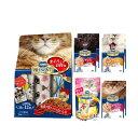 日本ペットコンボプレゼントキャットドライフード(まぐろとお肉味)・ウェットフード・おやつのプレゼントセット(女の子用)関東当日便