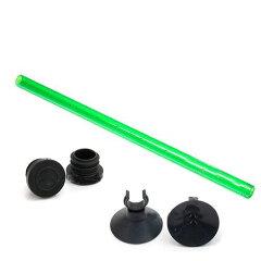 【まとめ割】シャワーパイプ + 止水栓 + クリップ付吸着盤(12/16φ クラシック用) 3...