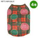 PET'S REPUBLIC デザインスウェットスノウステッチ 4号 ...