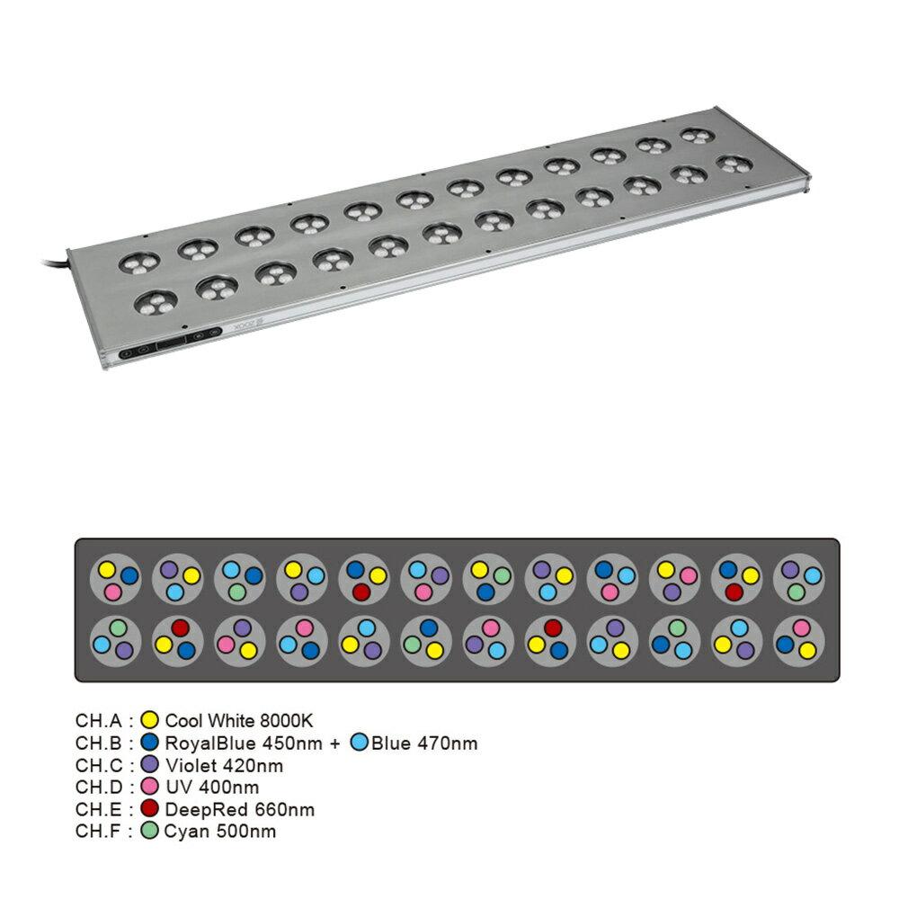 ZOOX レブロン90 90cm水槽用照明 ライト LED 調光可能