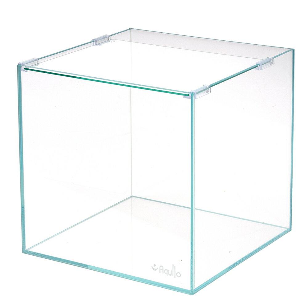 30cmキューブ水槽スーパークリア アクロ30Sキューブ(30×30×30cm)オールガラス水槽 Aqullo