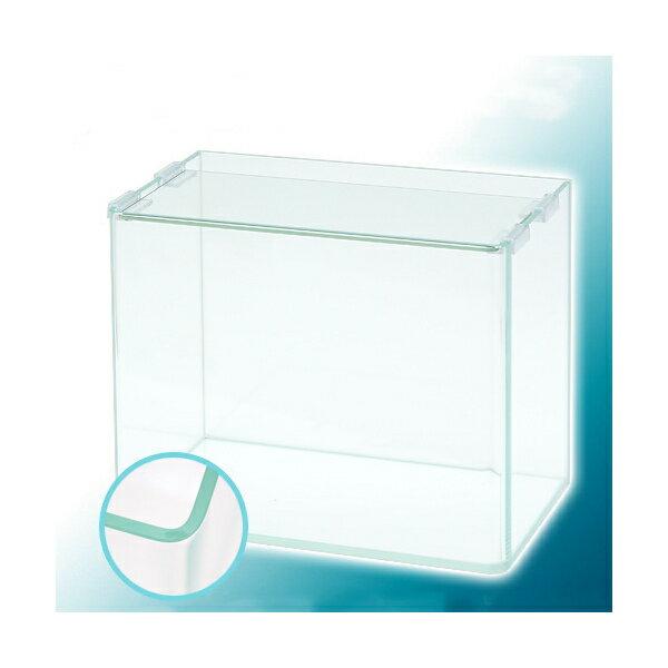 スーパークリア 前面曲げガラス水槽 アクロ30R(30×18×24cm) 30cm水槽 Aqullo