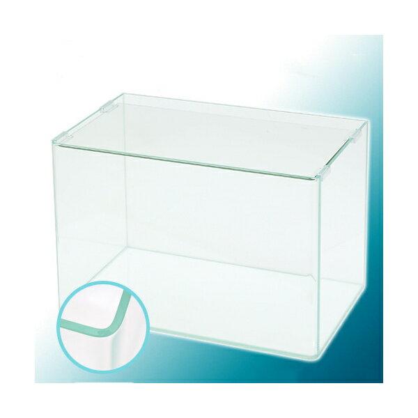 スーパークリア 前面曲げガラス水槽 アクロ45R(45×27×30cm)45cm水槽 Aqullo