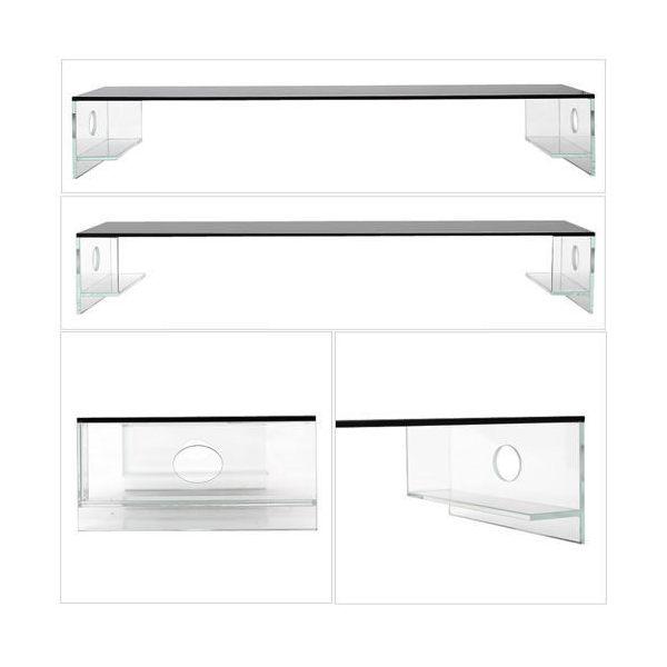 アクロ ガラスキャノピー 600 ブラック TRIANGLE OVAL オプションパーツ