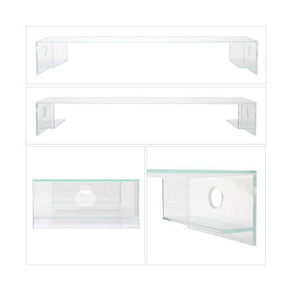 アクロ ガラスキャノピー 600 サンドブラスト TRIANGLE OVAL オプションパーツ
