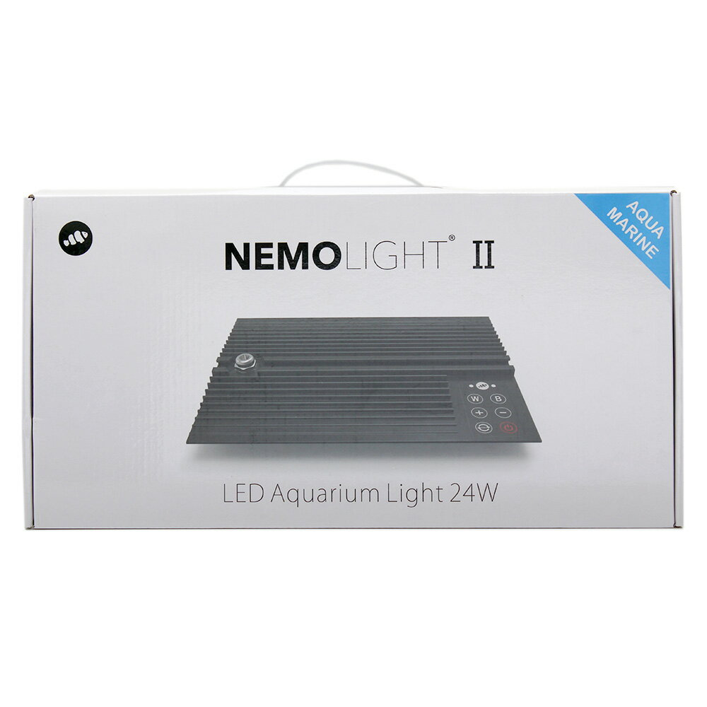 マーフィード NEMO LIGHT 2 アクアマリン 24W 海水用 〜45cm水槽 タイマー付き