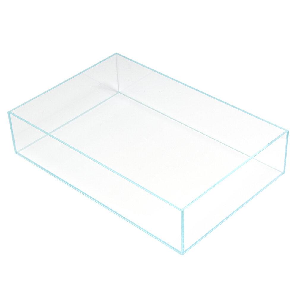 スーパークリア フラットS オールガラス水槽 (45×30×10cm) Aqullo
