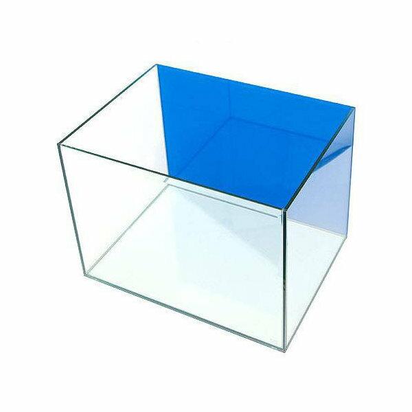 バックスクリーン貼付済 キューブ 600L アクアブルー(60×45×45cm) 60cm水槽