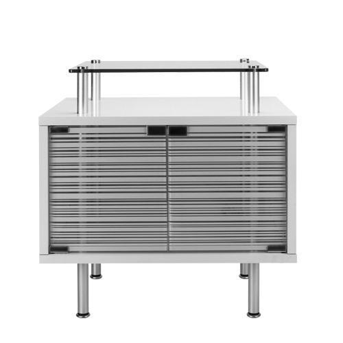 brio35用キャビネット ホワイト 水槽台 アクアポニクス水槽