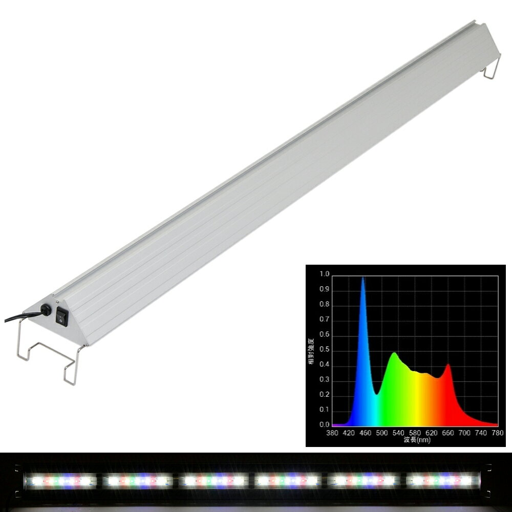 アクロ TRIANGLE LED GROW 1200 6000lm Aqullo 120cm水槽用 ライト