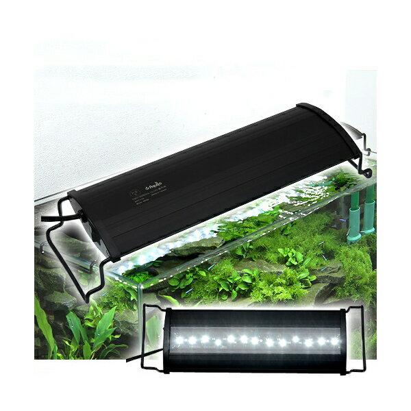 アクロ OVALブラック LED 300 1850lm BRIGHT Aqullo Series 30cm水槽用照明 ライト 熱帯魚 水草