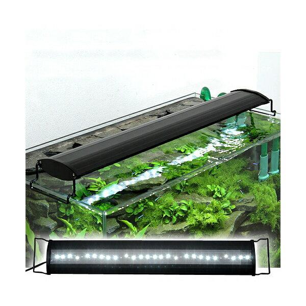 アクロ OVALブラック LED 600 3250lm BRIGHT Aqullo Series 60cm水槽用照明