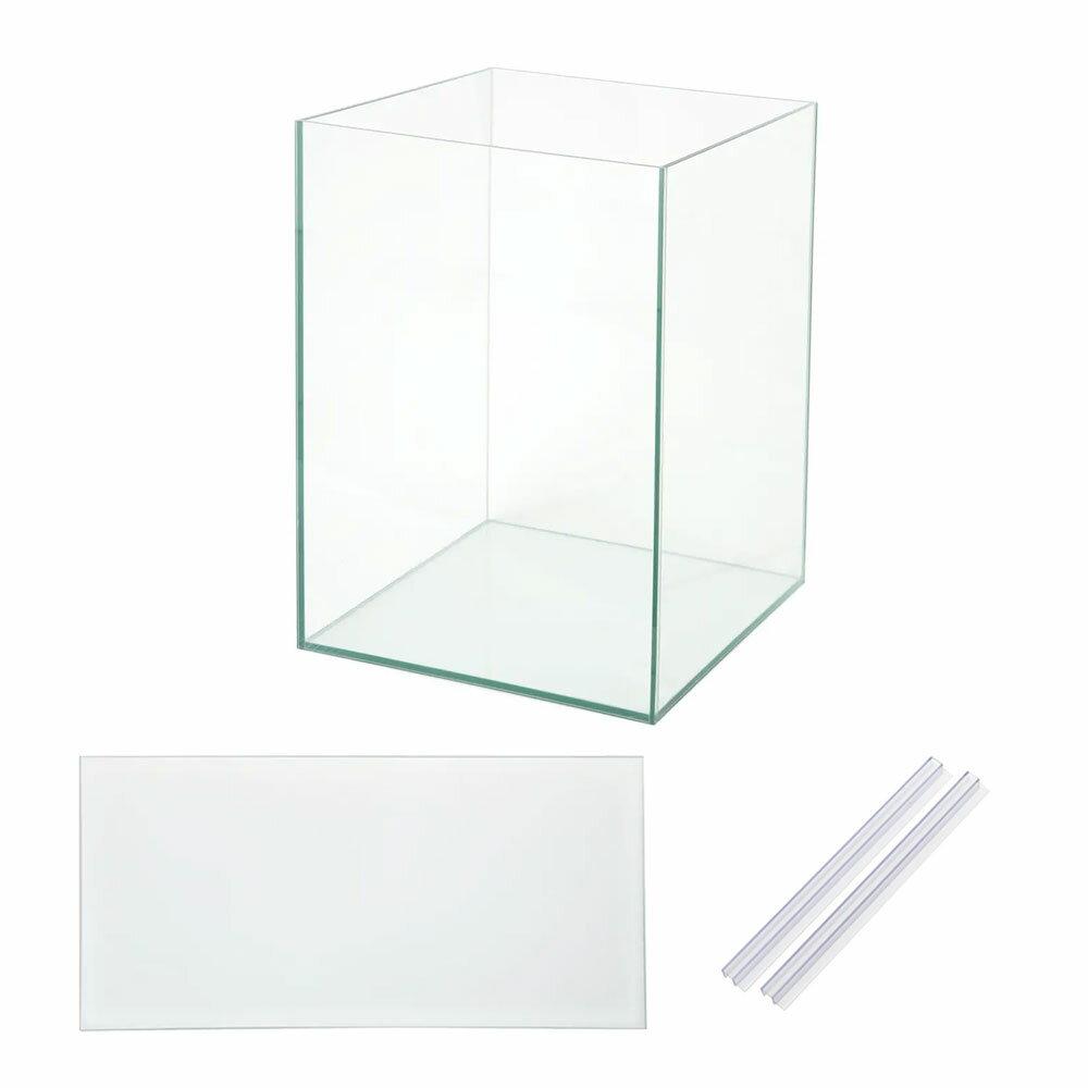 45cmハイタイプ水槽アクロ45NキューブH(45×45×60cm)フタ付き オールガラス水槽Aqullo