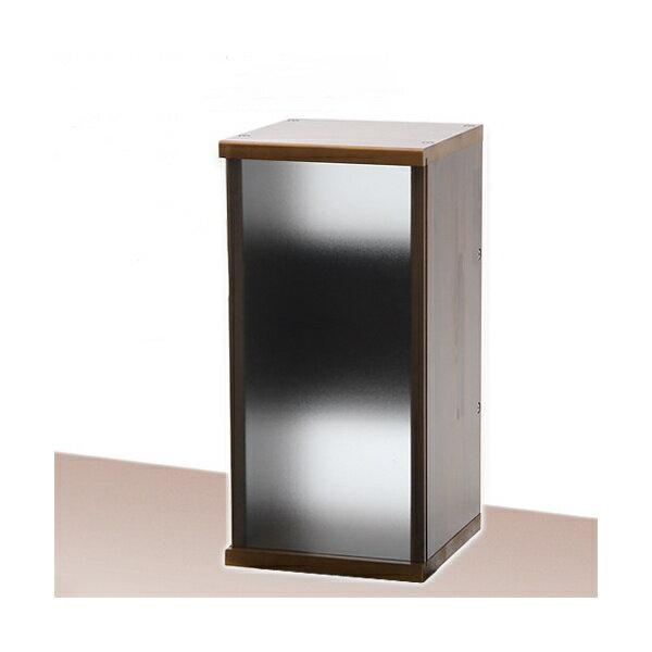 アクロ キャビネット 3030 ブラウン サンドブラストパネル 30cm水槽用 水槽台