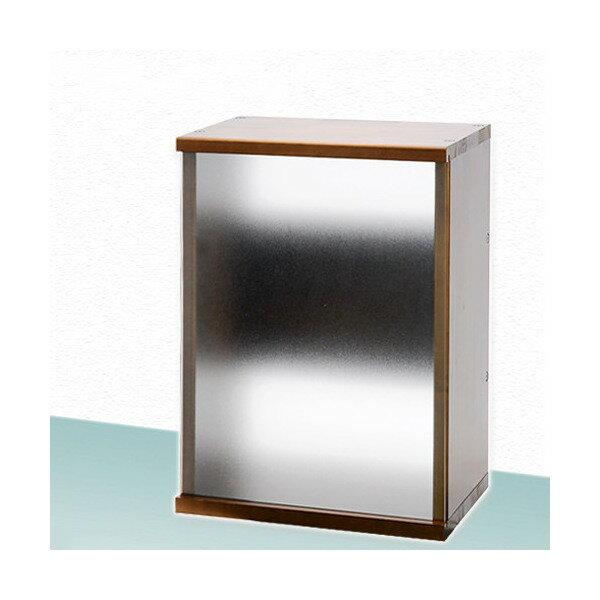 アクロ キャビネット 4527 ブラウン サンドブラスト 45cm水槽用 水槽台