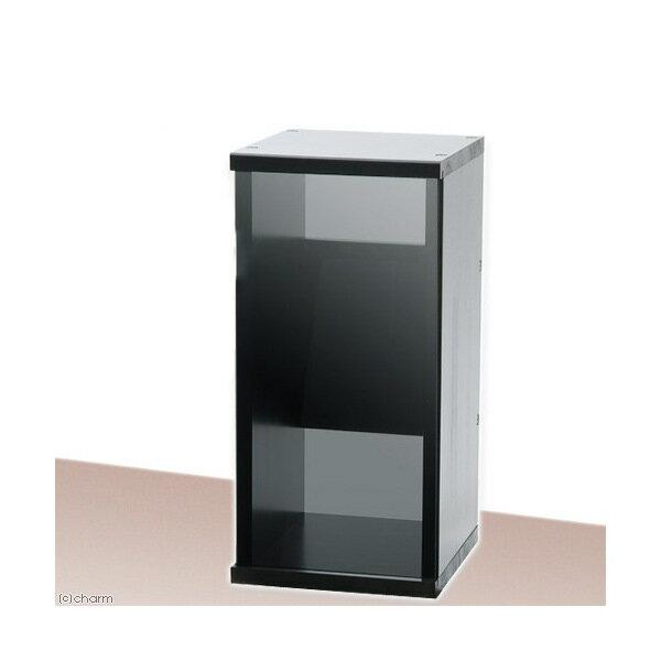 アクロ キャビネット 3030 ブラック クリアグレーパネル