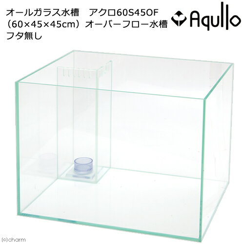 60cmオーバーフロー水槽アクロ60S45OF(60×45×45cm)フタ無し