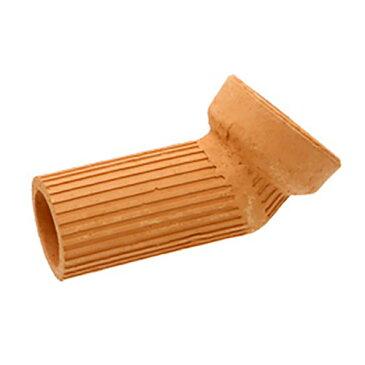 隠れ家土管 へ字管 M 内径75mm 大型 シェルター 水槽用オブジェ アクアリウム用品 関東当日便